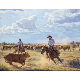 American West by Tim Cox Wall Calendar Printed with Your Logo