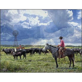 Branded American West by Tim Cox Wall Calendar