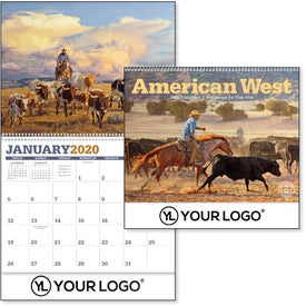 American West by Tim Cox Wall Calendar (2020)