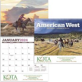 American West by Tim Cox Wall Calendar for Customization