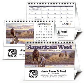 Advertising American West by Tim Cox Desk