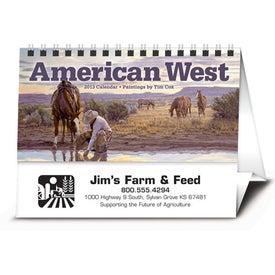 Custom American West by Tim Cox Desk