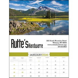 American Splendor Calendar with Date Blocks (2020)