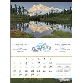 American Splendor Calendar - No Date Blocks (2020)