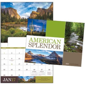 Printed American Splendor Appointment Calendar