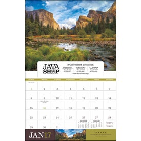 Personalized American Splendor Appointment Calendar