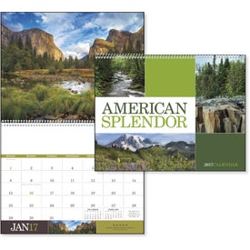 American Splendor Executive Calendar Branded with Your Logo