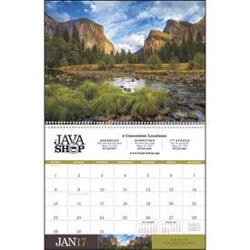 Imprinted American Splendor Executive Calendar