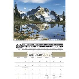 Branded American Splendor Executive Calendar