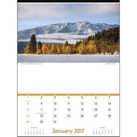 Personalized America's Charm Executive Calendar
