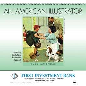 Personalized An American Illustrator Wall Calendar
