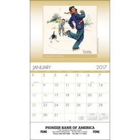 Custom An American Illustrator Wall Calendar