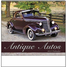 Antique Autos Spiral Calendar for Your Company