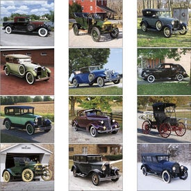 Promotional Antique Autos Spiral Calendar