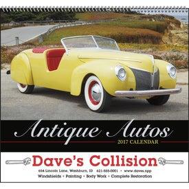 Antique Autos Spiral Calendar (2020)