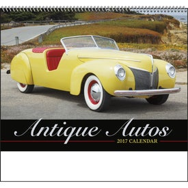 Antique Autos Spiral Calendar for Your Organization