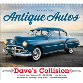 Antique Autos Calendars (2022, Spiral)