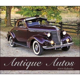Customized Antique Autos Stapled Calendar