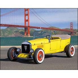 Antique Autos Stapled Calendar Giveaways