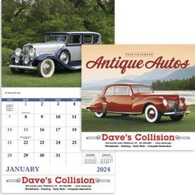 Antique Autos Stapled Calendar for Your Church