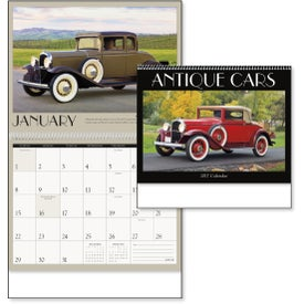 Antique Cars Appointment Calendar for your School