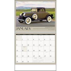 Printed Antique Cars Appointment Calendar