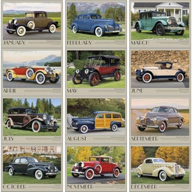 Antique Cars Appointment Calendar Imprinted with Your Logo