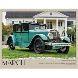 Antique Cars Appointment Calendar Giveaways