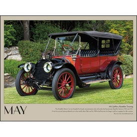 Antique Cars Appointment Calendar for Customization