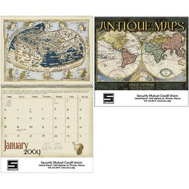 Antique Maps Calendar for Advertising