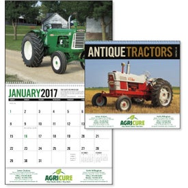Imprinted Antique Tractors Appointment Calendar
