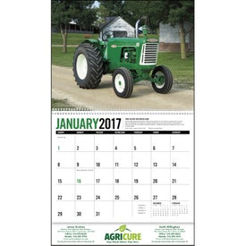 Custom Antique Tractors Appointment Calendar