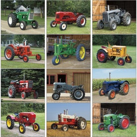 Antique Tractors Appointment Calendar for Customization