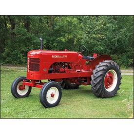 Monogrammed Antique Tractors Appointment Calendar