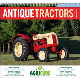 Antique Tractors Appointment Calendar with Your Logo
