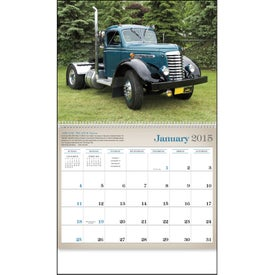 Antique Trucks Appointment Calendar with Your Logo