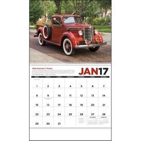 Antique Trucks Appointment Calendar for Customization