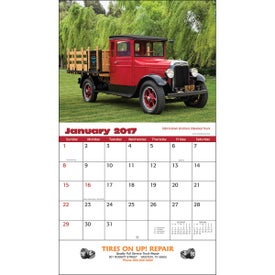 Company Antique Trucks Wall Calendar