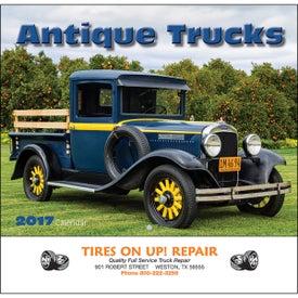 Antique Trucks Wall Calendar (Stapled)