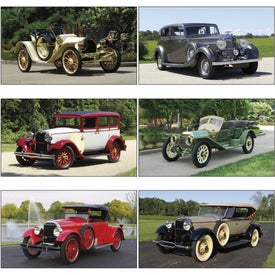 Antique Cars - Executive Calendar for Marketing