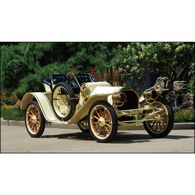Monogrammed Antique Cars - Executive Calendar