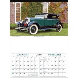 Antique Cars - Executive Calendar for Marketing