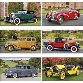 Advertising Antique Cars - Executive Calendar