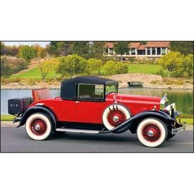 Antique Cars - Executive Calendar Imprinted with Your Logo