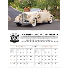 Antique Cars - Executive Calendar (2020)