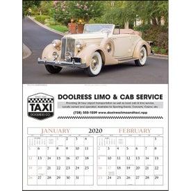 Antique Cars - Executive Calendar (2020)