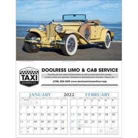 Antique Cars - Executive Calendar for Advertising