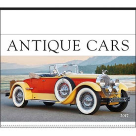 Company Antique Cars Large Executive Calendar