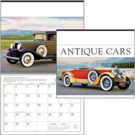 Antique Cars Large Executive Calendar for Promotion