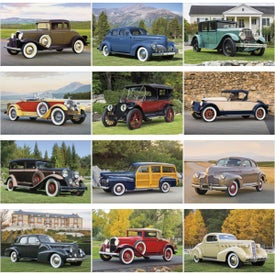 Antique Cars Large Executive Calendar for Customization